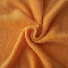 15. FLEECE oranžová  šířka 150cm