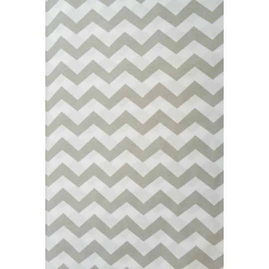 100% bavlněné plátno  šíře 160cm cik cak šedý