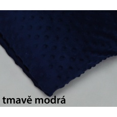 Minky, šířka 160cm - tmavě modrá