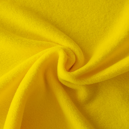 16. FLEECE šířka 150cm žlutá