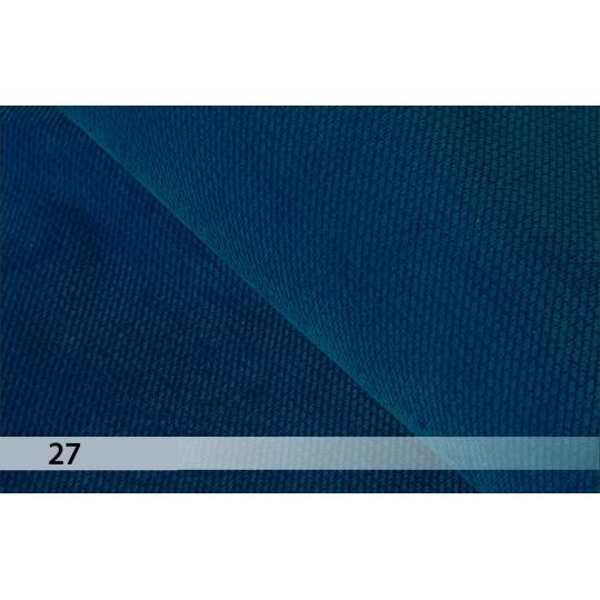 Velvet tmavě modrá 27
