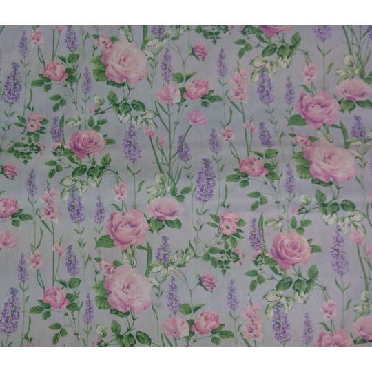 100% bavlněné plátno - růže 119