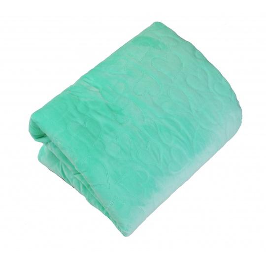 Luxusní deka Elfan zelené hvězdičky