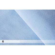 Velvet světle modrá 6