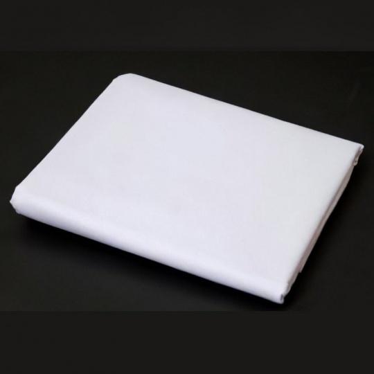 100% bavlněné plátno bílé