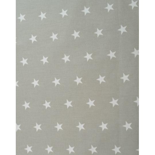 100% bavlněné plátno  šíře 160cm  bílé hv na šedé
