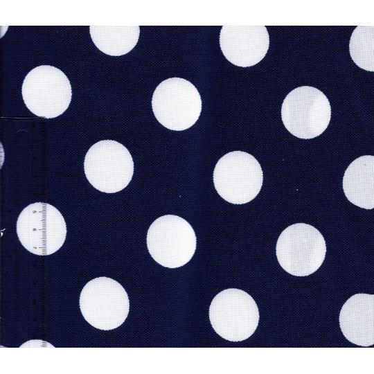 Kočárkovina granát s puntíky