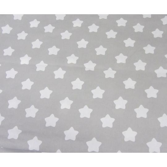 100% bavlněné plátno  šíře 160cm perníčky na šedé