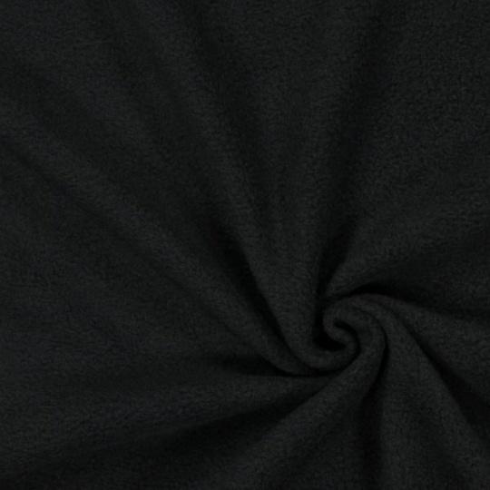 FLEECE gramáž 420g, šířka 150cm ČERNÝ